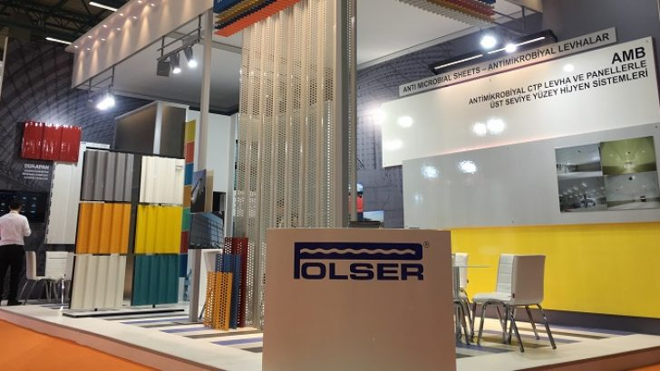 Polser FRP Panels participated to Turkeybuild 2017 Exhibiton