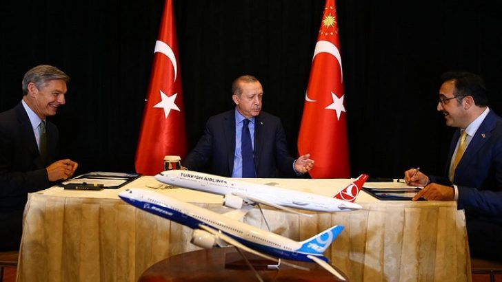 Turkish Airlines to buy 40 Boeing 787 Dreamliner planes
