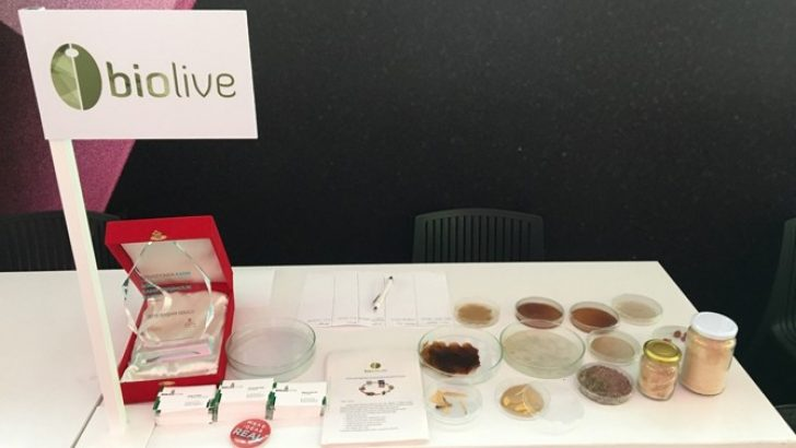 Turkish enterpreneurs produced bio-plastic by olive seeds