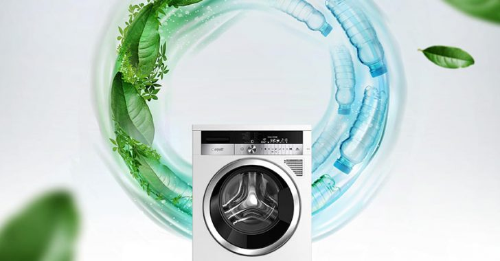 Washing machine made of waste PET awarded