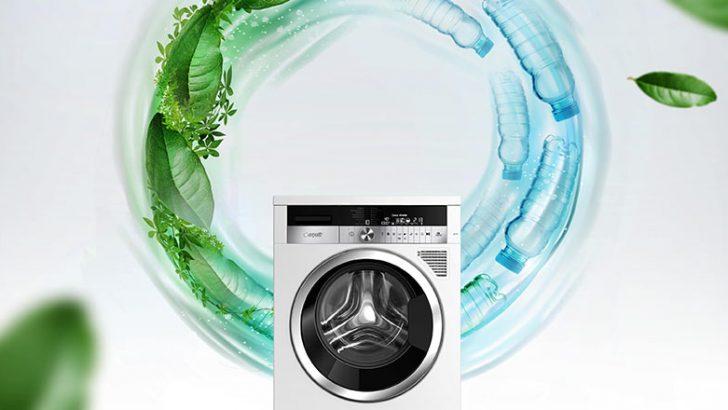 Washing machine made of waste PET awarded