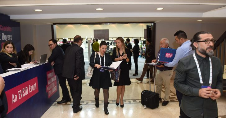 EVSID Entertained Buyers from 50 Countries