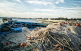 Ghost nets are recycled into white goods